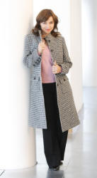 Petite Affair Saskia Doogtooth Coat 6-16 �149